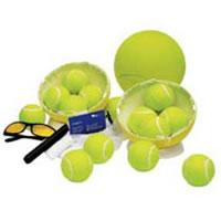 Tennis Ball Autograph Ball that opens as a gift pack