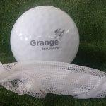 Golf Ball Pack Pad Printed for Grange Insurance
